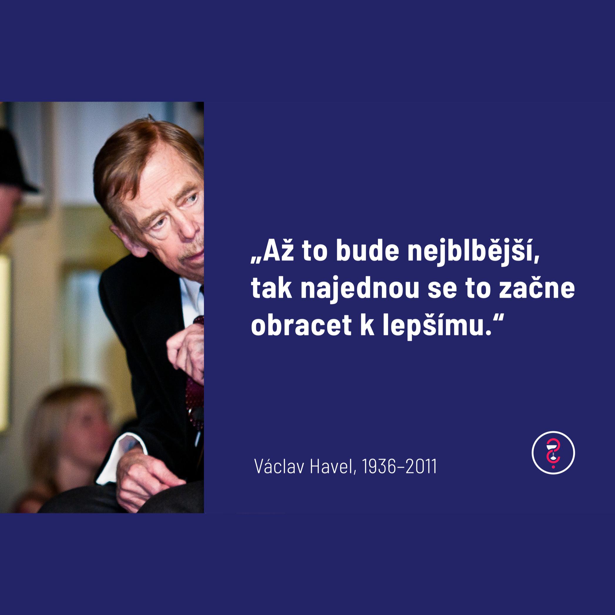 Připomínáme si Václava Havla